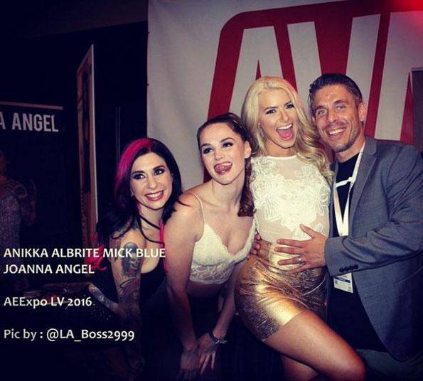 Anikka, Joanna, Tori, Mick - AVN Awards