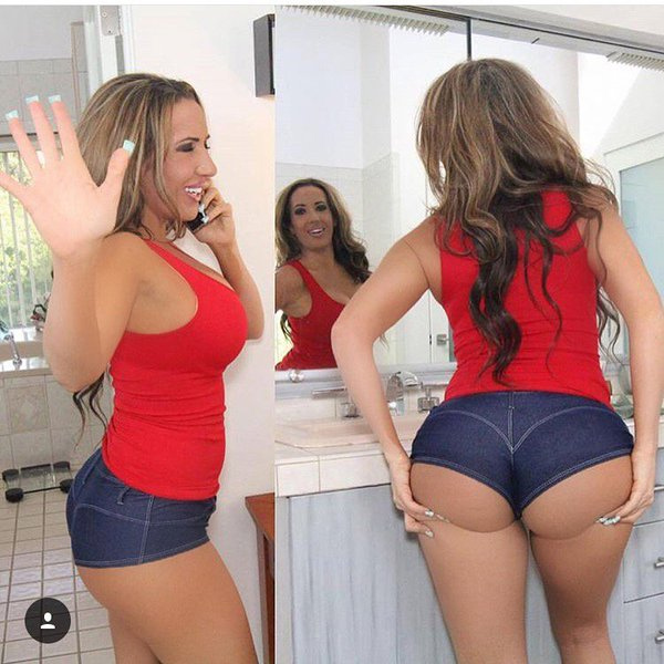 Famous pornstar Richelle Ryan rocks her big ass in mesh stockings № 386764 без смс