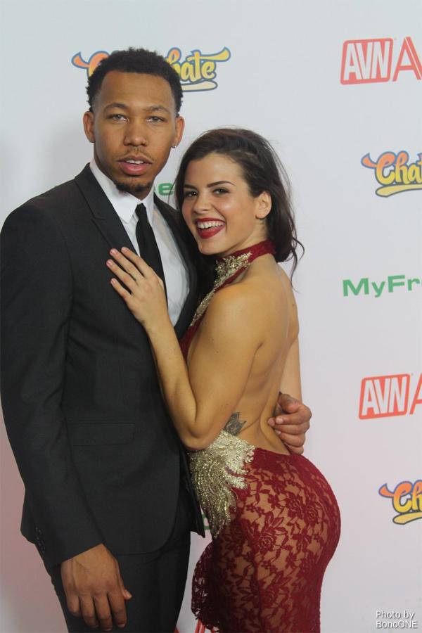Ricky Johnson and Keisha Grey - AVN Awards