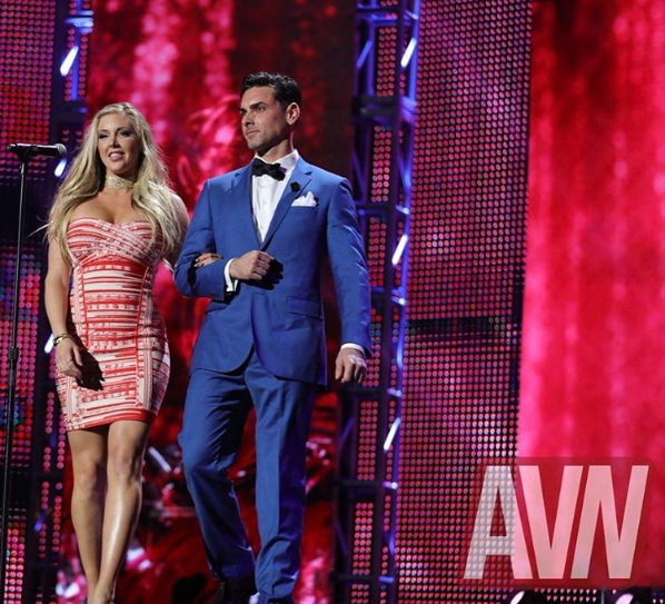 Ryan Driller and Samantha Saint - AVN Awards