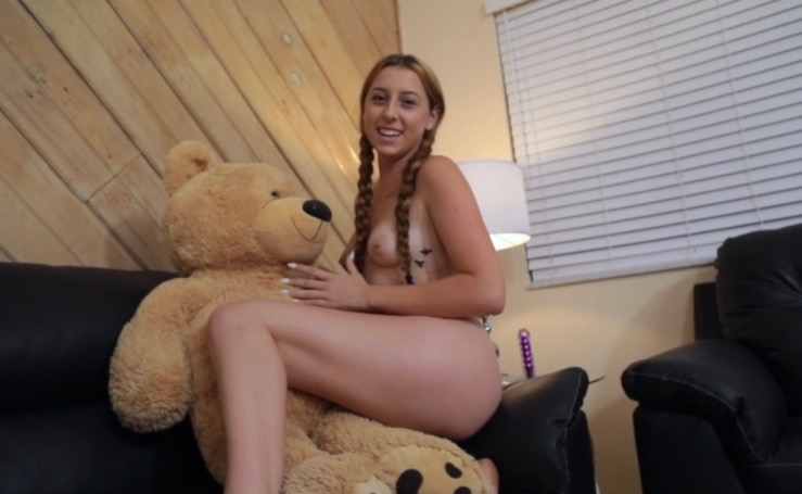 Melody Parker 18-yr old porn