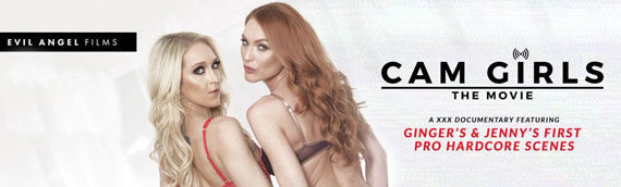 Ginger Banks from Cam Girls: The Movie